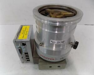 Pfeiffer Vacuum Turbo Pump With Tc600 Thm 261