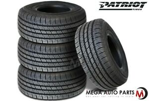 4 X New Patriot Ht 265 70r16 112h All Season Highway Tires