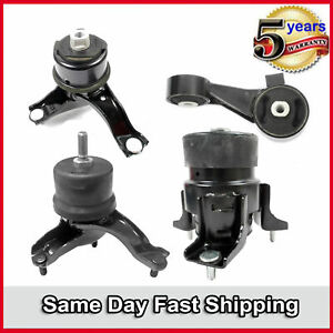 Engine Motor Trans Mount For 2004 2006 Toyota Sienna 3 3l Fwd Set 4pcs New