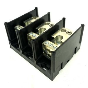Ferraz Shawmut 67513 Power Terminal Block 3 pole 600v 310a 5 X 4 X 2