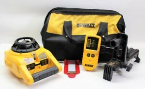 Dewalt Self Leveling Interior And Exterior Rotary Laser Level Kit Dw cmp002206