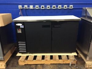 Serv ware Bb3 24 hc commercial Back Bar Cooler 2 section 13 5 Cubic Feet
