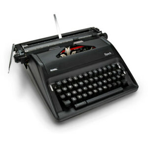 Royal Epoch Portable Manual Typewriter Refurbished