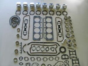 Basic Engine Rebuild Kit 1954 1955 Buick 322 V8