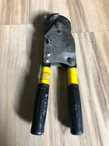 Hkp No 6990fs Ratcheting Cable Cutter 795 Aluminum And 750 Copper