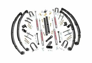 Rough Country 4 5 Suspension Lift Kit Jeep Wrangler Yj 4wd 618 20