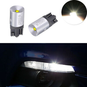 Cree T10 White Led 168 194 2825 W5w Bulbs For Car Sidemarker Lights Replacement