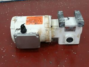 Reliance P56x45 Electric Motor 1 2hp 1725rpm 208 230 460v Shaft 3 4 W Reducer