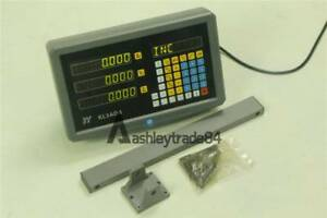 New 3 Axis Digital Readout Dro For Milling Lathe Machine