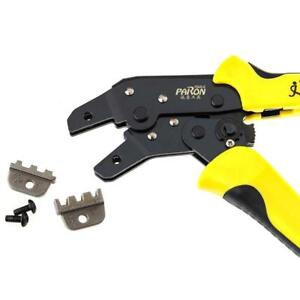 Functional Jx d4301 Ratchet Crimping Tool Wire Strippers Terminals Pliers