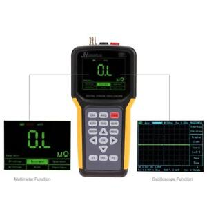 Channels 20mhz Sample Rate Lcd Digital Handheld Oscilloscope With Multimeter Ga