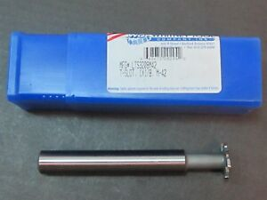 Whitney Lts3208 Hss M2 1 X 1 8 X 5 8 X 4 15 16 T slot 8 Teeth Milling Cutter