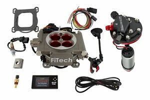 Fitech Fuel Injection 38003 Gostreet Efi Throttle Body System Master Kit 400 Hp