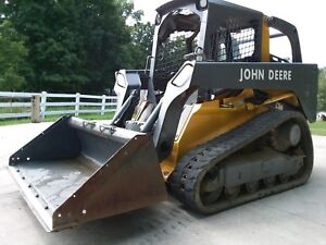 John Deere 319d Rubber Track Skid Steer No Reserve But It Now