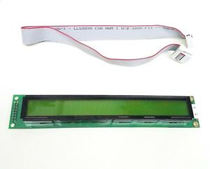 Powertip Pc 4002b Lcd Display Good Condition Tested Working W Cable