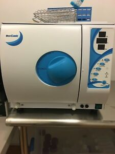 Bioclave Benchtop Autoclave Product B4000 16l Good Condition Steam Steralize