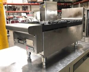 Wolf 12 2 Open Burner Counter Top Range Hot Plate Commercial Stainless Steel