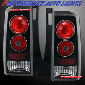 Set Of Pair Black Altezza Style Taillights For 2003 2007 Scion Xb