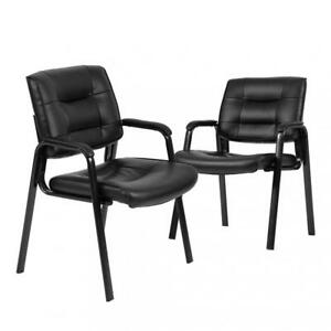 Guest Chair reception Chairs Conference Chairs Stack Meeting W Arm Set Of 2