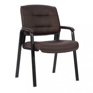 Guest Chair Reception Chairs Conference Chairs Stack Meeting Chair W Arm Brown