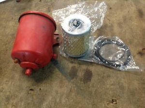 Used Ford 9n 2n Tractor Oil Filter Housing W New Oil Filter