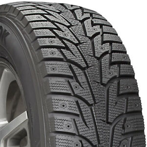 1 New 225 50 17 Hankook I Pike Rs W419 Winter Snow 50r R17 Tire
