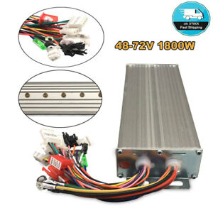 48 72v 1800w Electric Bicycle Brushless Motor Controller For Scooter
