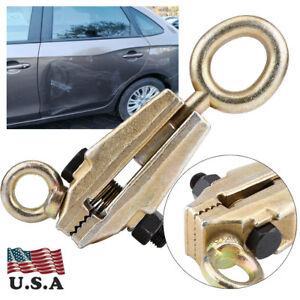 5 Ton Frame Back Self Tightening Grips Auto Body Repair Pull Clamp Heavy Duty