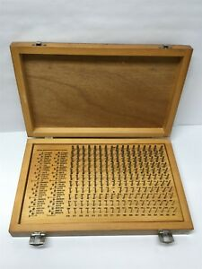 Meyer M 1 Plus 189 piece Inspection Pin Gauge Set 061 To 250 missing 124