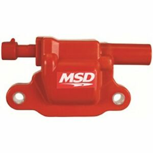 Msd Ignition 8265 Red Blaster Ignition Coil 2005 2016 Gm Ls2 ls3 ls4 ls7 ls9 1 p