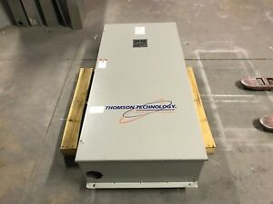 Thomson Technology Ats 400 Amp 600v 1 3ph Ts833a0400a1ae2akkaa Tsc 800 Used