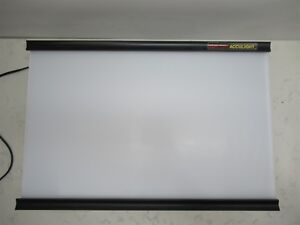Bretford Acculight 6002 6222 Still Picture Projector X ray Viewer Light Box
