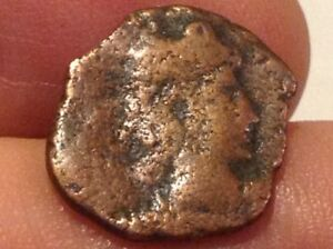 Roman Copper Coin Constantine Dynasty 305 363 Ad Back Germania Battle Scene Sf10