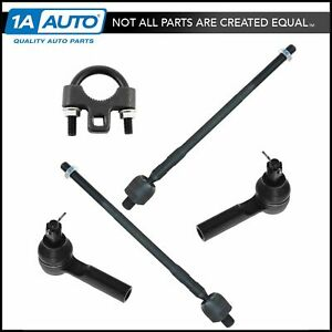 Front Inner Outer Tie Rod End Set Of 4 W Tool For Nissan Altima Maxima New