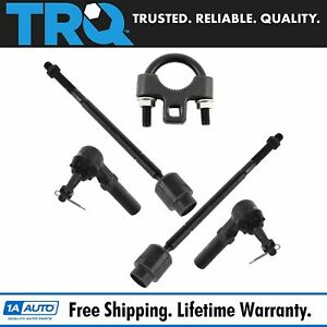 Tie Rod End Inner Outer Kit Set Of 4 W Tool For Chevy Buick Pontiac Oldsmobile