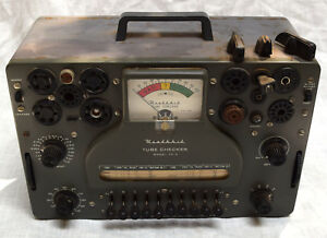 Heathkit Tc 3 Vacuum Tube Tester Checker Vintage