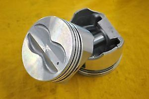 Sbc Pro Series Chevy 350 Flat Top Pistons 40 Over