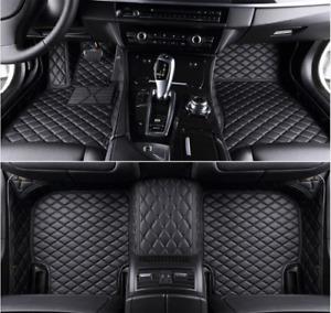 Fit For Chevrolet Camaro 2010 2015 Leather Car Floor Mats Waterproof Mat