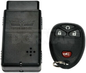 Dorman 13736 Keyless Entry Remote 4 Button For Models With Remote Start