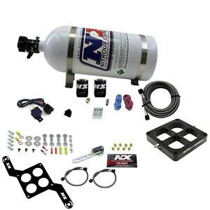 Nitrous Express 670 10 Dominator Single Entry Billet Crossbar Pro Power 10lb B