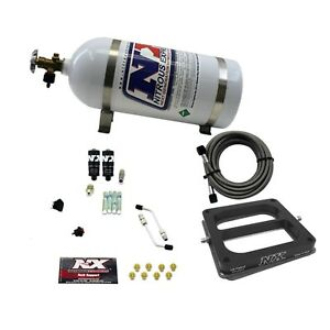 Nitrous Express 40070 10 Dominator Hitman 100 150 200hp With 10lb Bottle