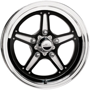 Billet Rims Wheels Brs035157365n Street Lite Black 15x15 6 5 5x5