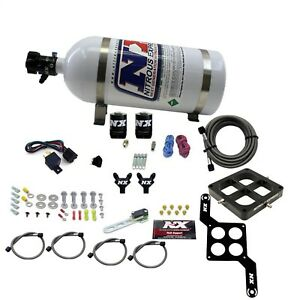Nitrous Express 60047 10 Dominator Billet Crossbar Stage 6 2 10lb Bottle