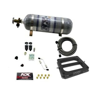 Nitrous Express 40070 12 Dominator Hitman 100 150 200hp With Composite Bottle