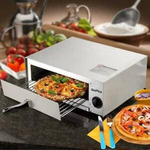 Pizza Oven Commercial Kitchen Stainless Steel Pan Electric High Quality Baking