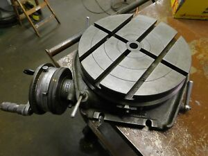 Walter 12 5 Rotary Table Model With Indexing Dividing Attachment Rt320t