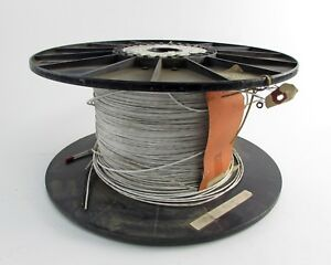 Champlain Le572 0053 4262 Nickel Coated Copper Alloy Wire Spool 2600 26 Awg