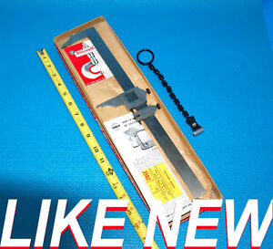 Starrett 12 300 Mm 122 E m inch Metric Vernier Caliper With Magnifier