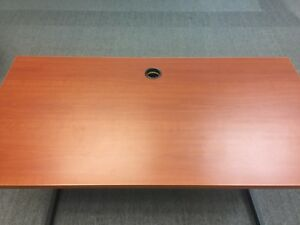 Office Desk Cherry 48 Interion Partition Furniture