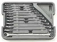 Gearwrench 85988 12 Piece Xl 0 Gear And Box Ratcheting Wrench Set Metric New